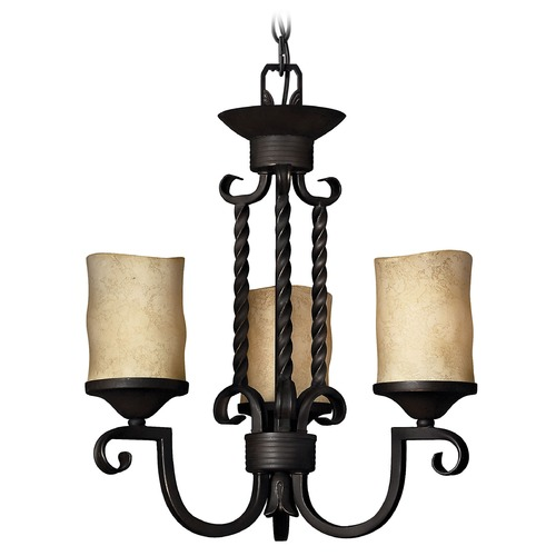 Hinkley Lighting Three-Light Mini Chandelier 4013OL