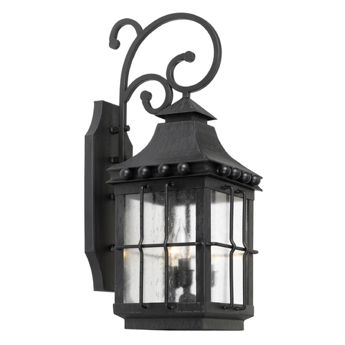 Elk Lighting Outdoor Wall Light with Clear Glass in Espresso Finish 8451-E