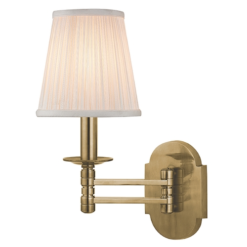 Hudson Valley Lighting Hudson Valley Lighting Ravena Aged Brass Swing Arm Lamp 9310-AGB