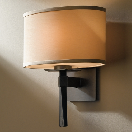 Hubbardton Forge Lighting Hubbardton Forge Lighting Beacon Hall Burnished Steel Sconce 204810-SKT-08-SB1195