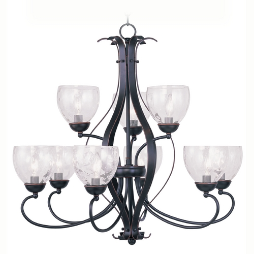 Livex Lighting Livex Lighting Brookside Olde Bronze Chandelier 4809-67