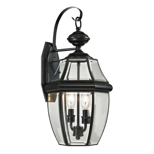 Cornerstone Lighting Cornerstone Lighting Ashford Black Outdoor Wall Light 8602EW/60