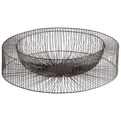 Cyan Design Cyan Design Wheel Graphite Tray 05834