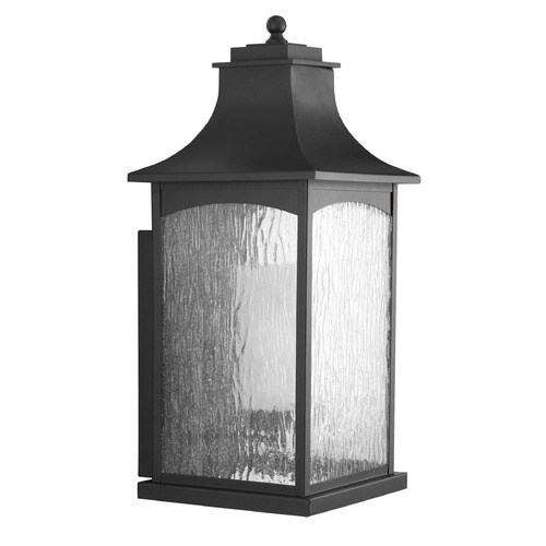 Progress Lighting Progress Lighting Maison CFL Black Outdoor Wall Light P6637-31