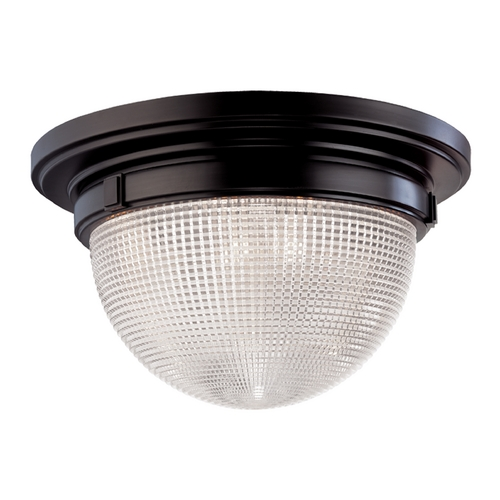 Hudson Valley Lighting Flushmount Light with Clear Glass in Old Bronze Finish 4415-OB