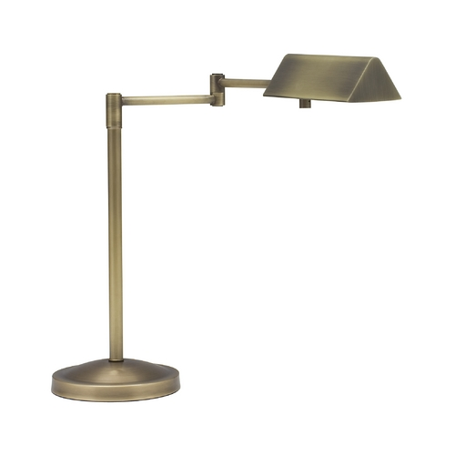 House of Troy Lighting Pharmacy Lamp in Antique Brass Finish PIN450-AB