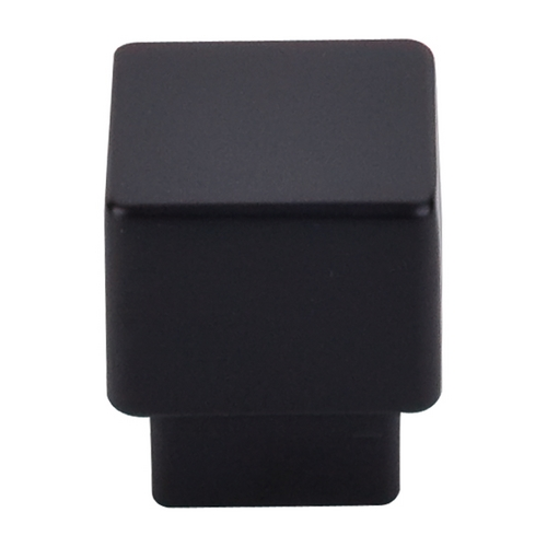 Top Knobs Hardware Modern Cabinet Knob in Flat Black Finish TK32BLK