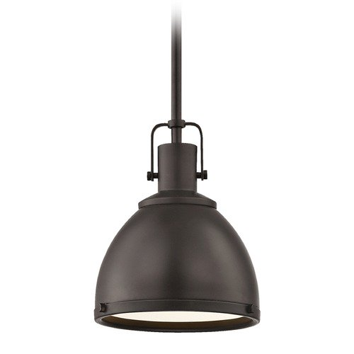 Design Classics Lighting Nautical Bronze Mini-Pendant 7.38-Inch Wide 1762-220 SH1775-220 R1775-220