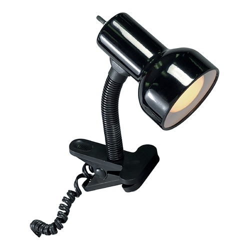 Satco Lighting Satco Lighting Black Clip-On Lamp SF76/226