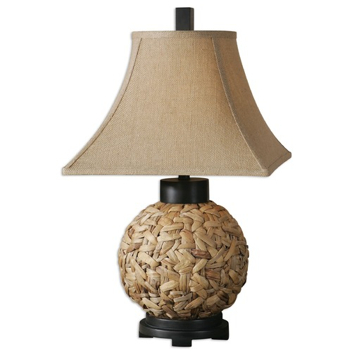 Uttermost Lighting Uttermost Calameae Rattan Lamp 26470
