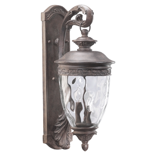 Quorum Lighting Quorum Lighting Georgia Etruscan Sienna Outdoor Wall Light 7400-3-43