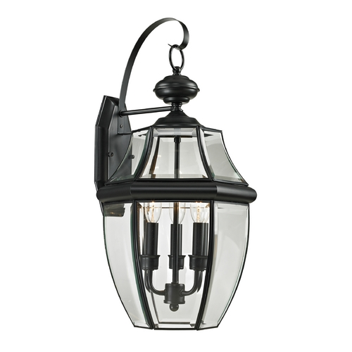 Cornerstone Lighting Cornerstone Lighting Ashford Black Outdoor Wall Light 8603EW/60