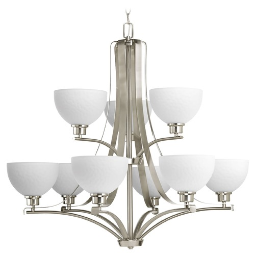 Progress Lighting Progress Lighting Legend Brushed Nickel Chandelier P4272-09