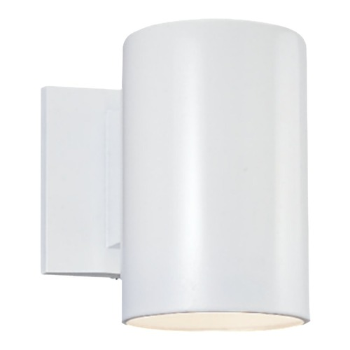 Sea Gull Lighting Sea Gull Lighting Outdoor Bullets White Outdoor Wall Light 8313801BLE-15