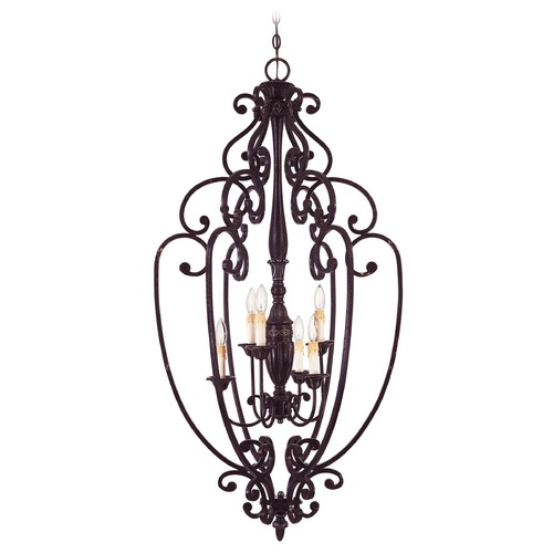 Savoy House Savoy House Distressed Bronze Pendant Light 3-054-6-59