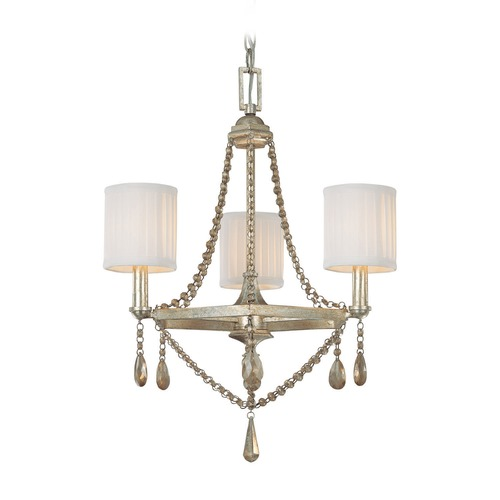 Capital Lighting Capital Lighting Fifth Avenue Winter Gold Mini-Chandelier 4007WG-500