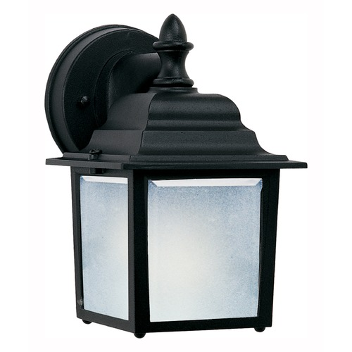 Maxim Lighting Maxim Lighting Side Door LED Black LED Outdoor Wall Light 56924BK