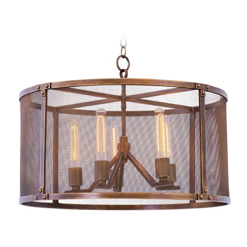 Kalco Lighting Kalco Chelsea Copper Patina Pendant Light 502150CP