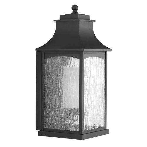 Progress Lighting Progress Lighting Maison CFL Black Outdoor Wall Light P6636-31
