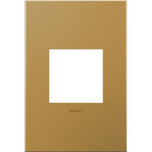 Legrand Adorne Legrand Adorne Satin Bronze 1-Gang Switch Plate AWC1G2SB4