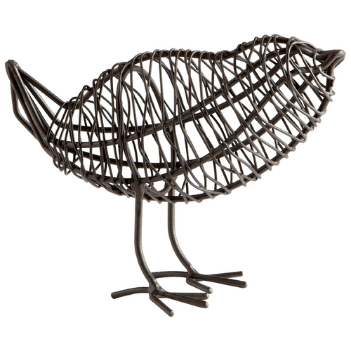 Cyan Design Cyan Design Bird on a Wire Graphite Sculpture 05836