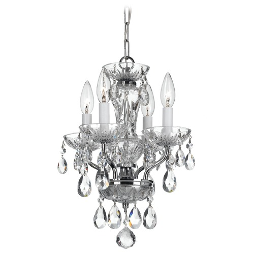 Crystorama Lighting Crystorama Lighting Traditional Crystal Chrome Chandelier 5534-CH-CL-I