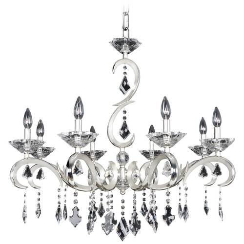 Allegri Lighting Scarlatti 8 Light Crystal Chandelier 025250-017-FR001