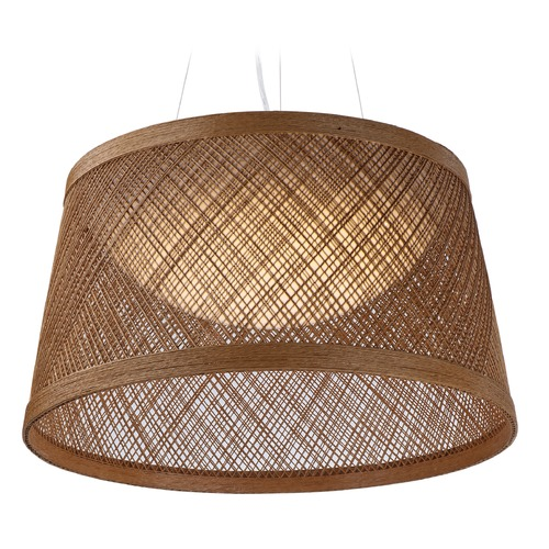 Maxim Lighting Maxim Lighting International Bahama Natural LED Pendant Light with Bowl / Dome Shade 54376NA