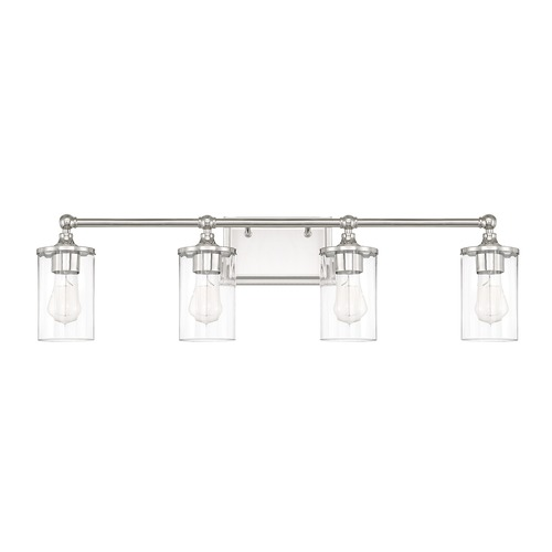 Capital Lighting Capital Lighting Camden Polished Nickel Bathroom Light 120741PN-423