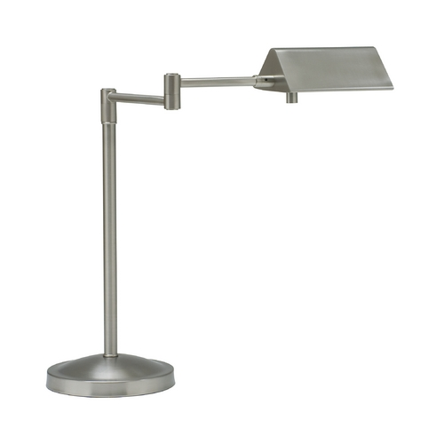 House of Troy Lighting Pharmacy Lamp in Satin Nickel Finish PIN450-SN