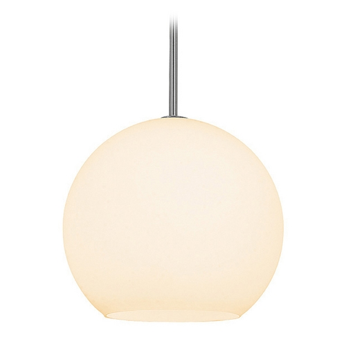 Access Lighting Access Lighting Nitrogen Brushed Steel Pendant Light C23951BSOPLEN1118BS