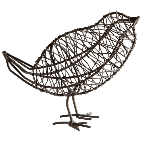 Cyan Design Cyan Design Bird on a Wire Graphite Sculpture 05837