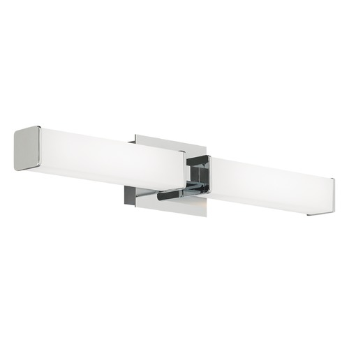 Tech Lighting Alden Chrome LED Bathroom Light Vertical / Horizontal Mounting by Tech Lighting 700BCALDYC-LED830-277