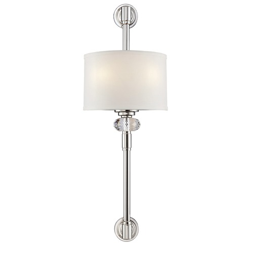 Savoy House Savoy House Polished Nickel Sconce 9-5951-2-109