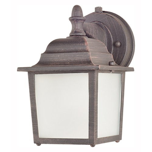 Maxim Lighting Maxim Lighting Side Door LED Rust Patina LED Outdoor Wall Light 56924RP