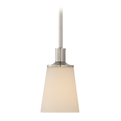 Nuvo Lighting Nuvo Lighting Laguna Brushed Nickel Mini-Pendant Light with Coolie Shade 60/5828