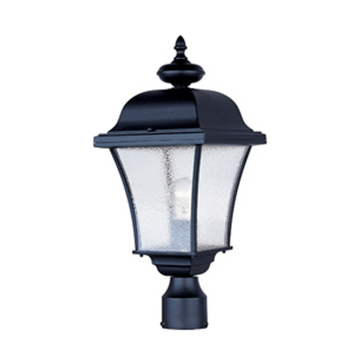 Maxim Lighting Post Light with Clear Glass in Rust Patina Finish 1065RP