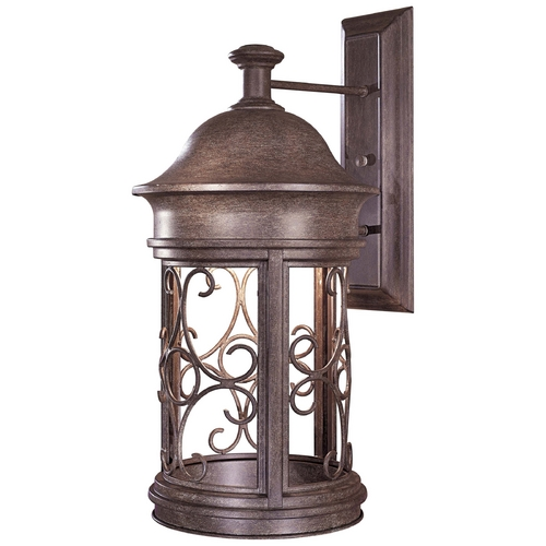 Minka Lavery Outdoor Wall Light in Vintage Rust Finish 8283-A61
