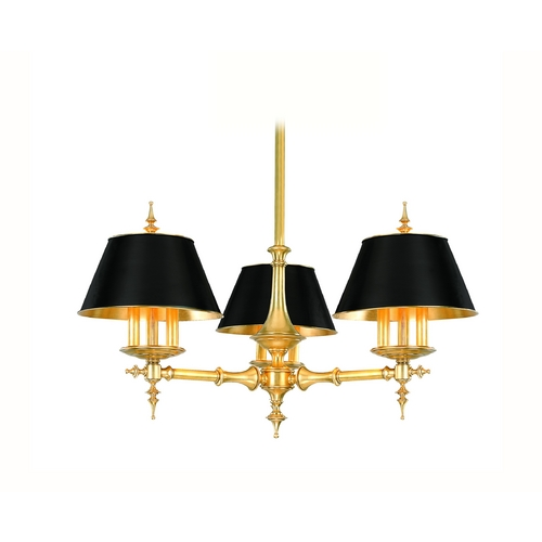 Hudson Valley Lighting Chandelier in Aged Brass Finish 9523-AGB