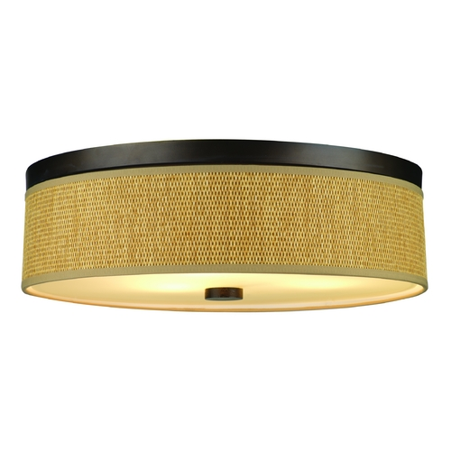Philips Lighting Modern Flushmount Lights in Sorrel Bronze Finish F615620