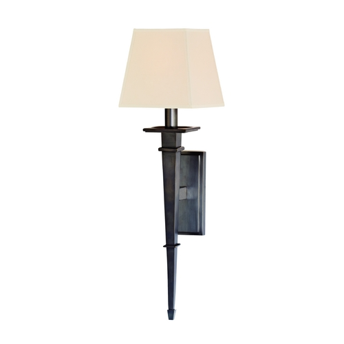 Hudson Valley Lighting Sconce Wall Light with Beige / Cream Paper Shade in Old Bronze Finish 230-OB