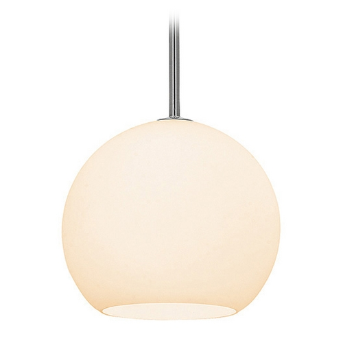 Access Lighting Access Lighting Nitrogen Brushed Steel Mini-Pendant Light C23950BSOPLEN1118BS