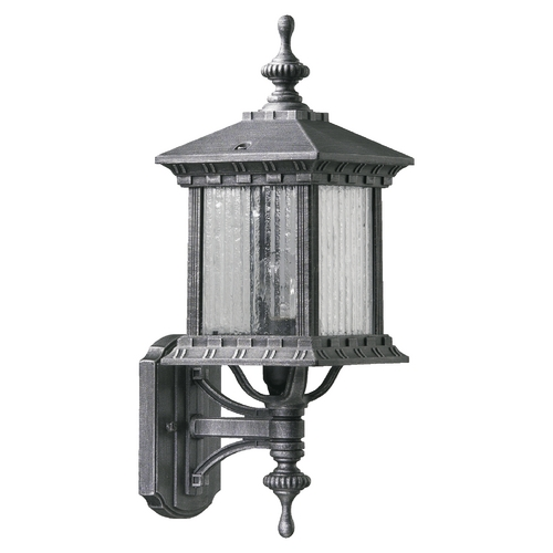 Quorum Lighting Quorum Lighting Huxley Rustic Silver Outdoor Wall Light 7460-72