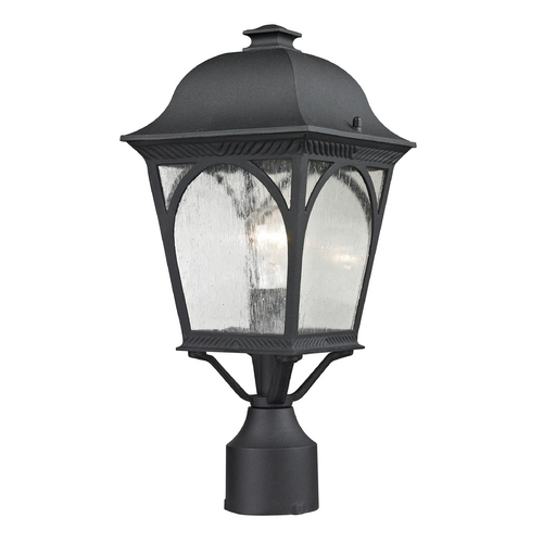 Cornerstone Lighting Cornerstone Lighting Cape Ann Matte Textured Black Post Light 8301EP/65