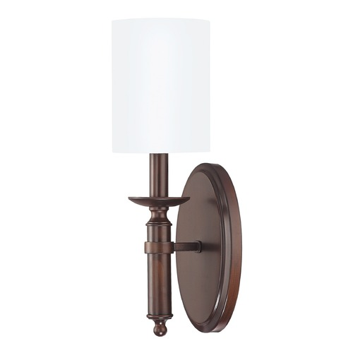 Capital Lighting Capital Lighting Covington Burnished Bronze Sconce 6301BB-489