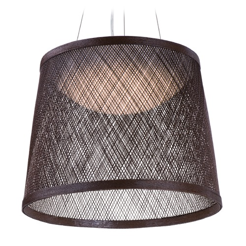 Maxim Lighting Maxim Lighting International Bahama Chocolate LED Pendant Light with Bowl / Dome Shade 54378CH