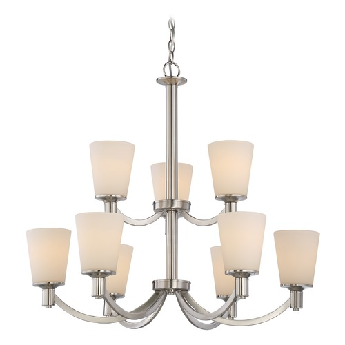 Nuvo Lighting Nuvo Lighting Laguna Brushed Nickel Chandelier 60/5829