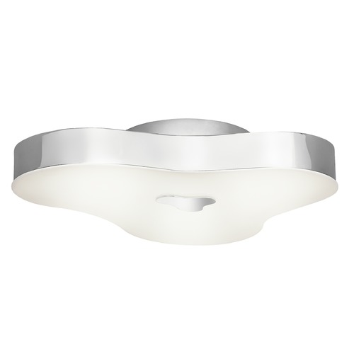 Elan Lighting Elan Lighting Jisel Chrome LED Flushmount Light 83573