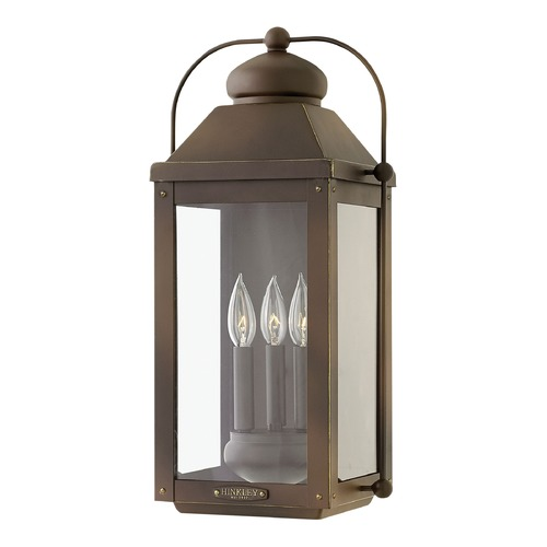 Hinkley Colonial LED Outdoor Wall Light Bronze by Hinkley 1855LZ-LL