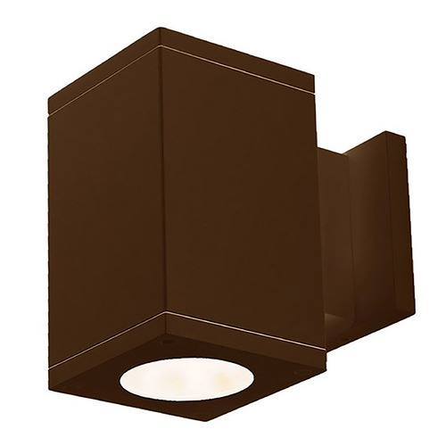 WAC Lighting Wac Lighting Cube Arch Bronze LED Outdoor Wall Light DC-WS05-F840B-BZ